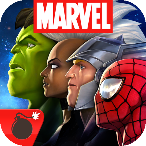 Marvel Contest of Champions - a bit shallow, but looks darn good! (via @148apps)